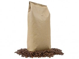 Brown Bag Coffee Beans