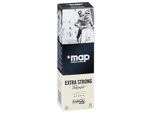 Map Extra Strong Roast Coffee Capsule